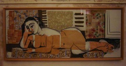 Picasso, reclining nude, Paris 2004