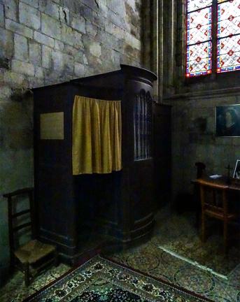 Confessional, Lisieux