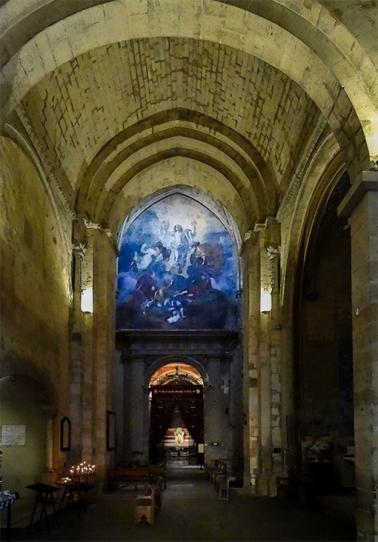 Blessed Sacrament chapel, Aix en Provence